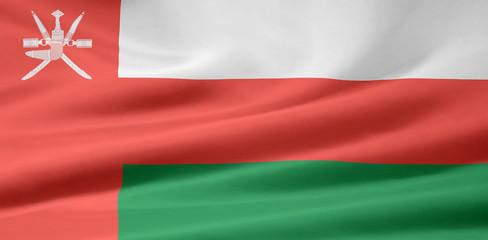 Omanische Flagge