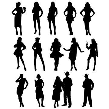 vector people figure