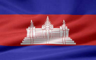 Kambodschanische Flagge