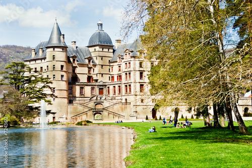 Chateau de Vizille, Isere, France  № 156827  скачать