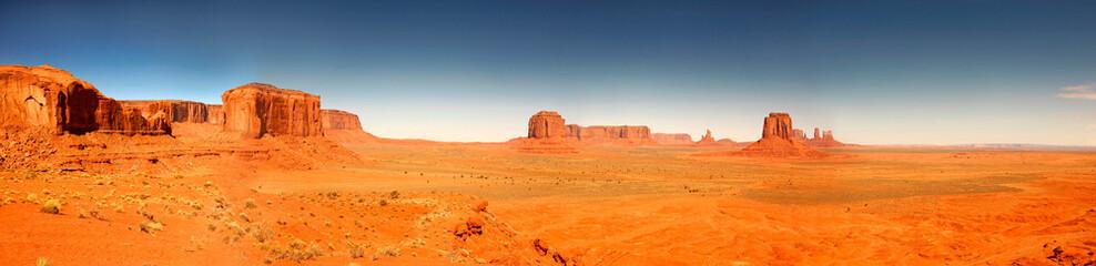 Acrylic Prints Orange Glow High Resolution Image of Monument Valley Arizona