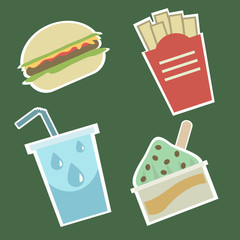 fast food icons 1