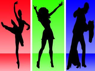 Dance, ballet,disco and ballroom