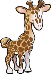 Cute Giraffe Illustration