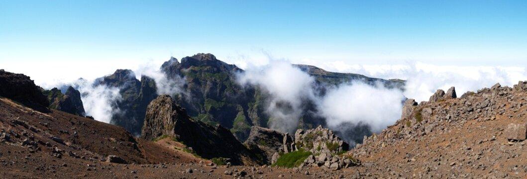 Pico do Arieiro auf Madeira