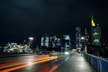 Citylights in Frankfurt