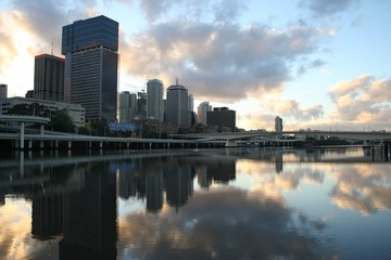 Brisbane  am  Morgen