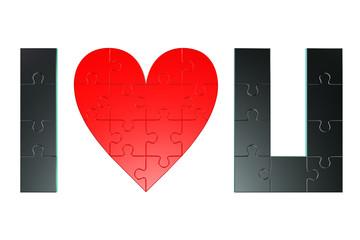 Puzzle I love U