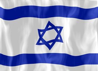 israel drapeau froissé israel crumpled flag
