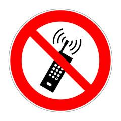schild mobiltelefone