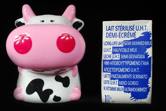 Le lait,la vache