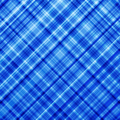 Colorful blue diagonal lines background.