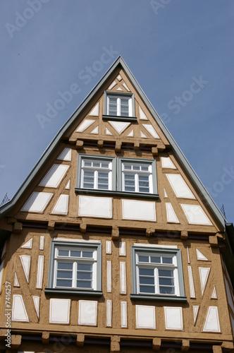 mittelalterliches haus esslingen stockfotos und lizenzfreie bilder auf bild 7416257. Black Bedroom Furniture Sets. Home Design Ideas