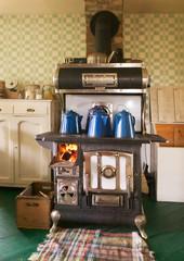 Antique Cast Iron Kitchen Stove