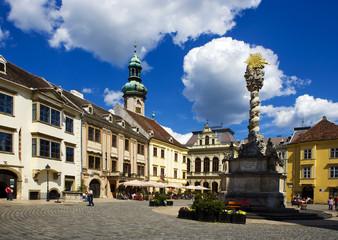 Sopron city, Main square