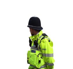 English Policeman on Duty