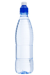 Isolated water bottle