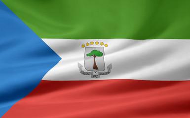Äquatorialguineische Flagge