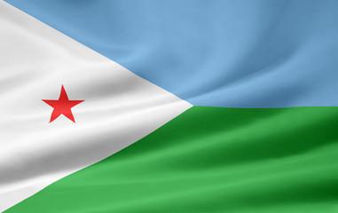 Dschibutische Flagge