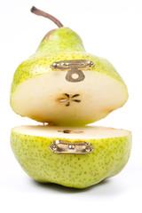 Green pears