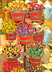 Baskets Of Candy