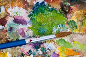 paintbrush & palette