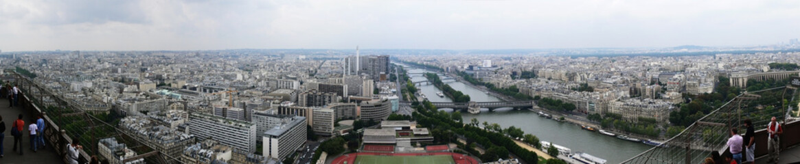 Paris, panorama, south-west