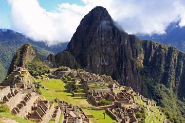 Machu Picchu, the Lost Inca City in Peru