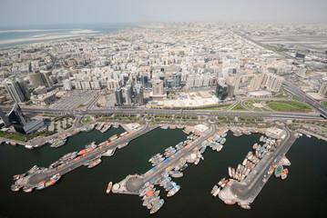 Dhow Port In Deira In Old Dubai
