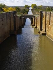 Canal de Castilla en Fromista