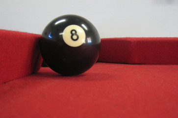 Don't be behind the 8 ball