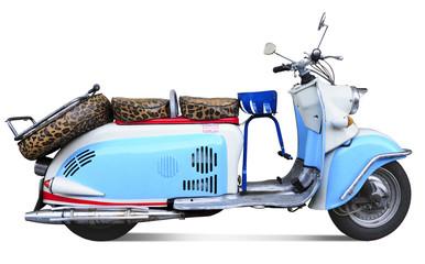 Foto auf Gartenposter Scooter Vintage motor scooter