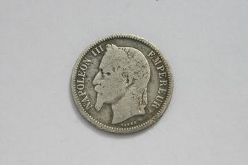 1f napoléon argent