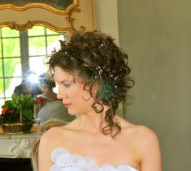 wedding day: portrait