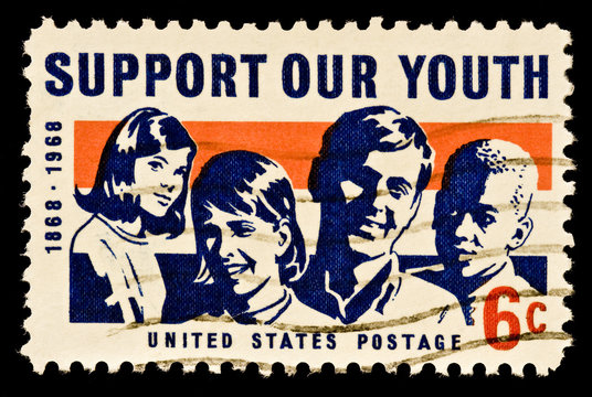 Support Our Youth Stamp