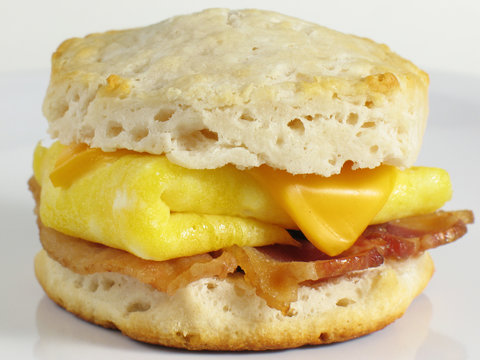 Bacon Biscuit Sandwich