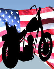 American chopper motorcycle