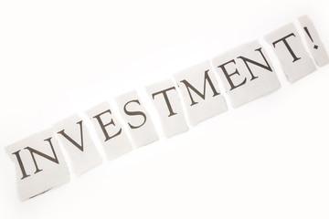 headline of investment