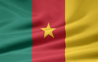 Kamerunische Flagge