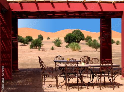 terrasse marocaine photo libre de droits sur la banque d 39 images image 7592488. Black Bedroom Furniture Sets. Home Design Ideas