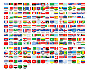 257 World flags