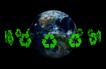 recycle on earth-hires