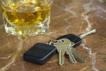 Keys with Drink