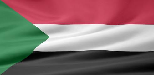 Sudanesische Flagge