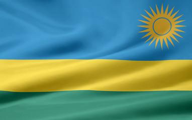 Ruandische Flagge