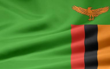 Sambische Flagge