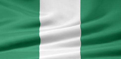 Nigerianische Flagge