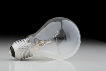 bulb lying on the side