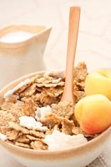 healthy breakfast - musli