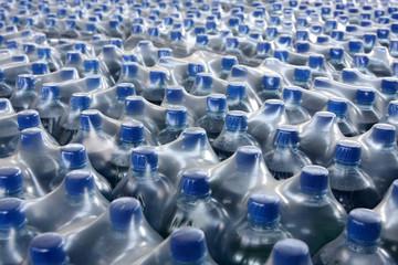 stack bottled juice